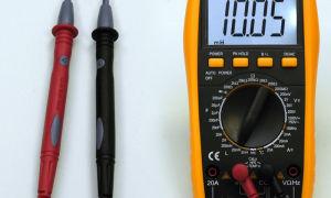 Как измерить индуктивность мультиметром