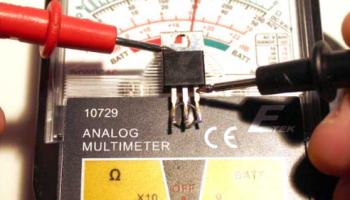 Проверка транзисторов с помощью мультиметра