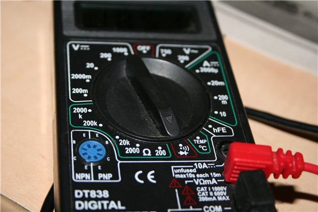 Как проверить лампочку мультиметром, тестер для проверки радиоламп